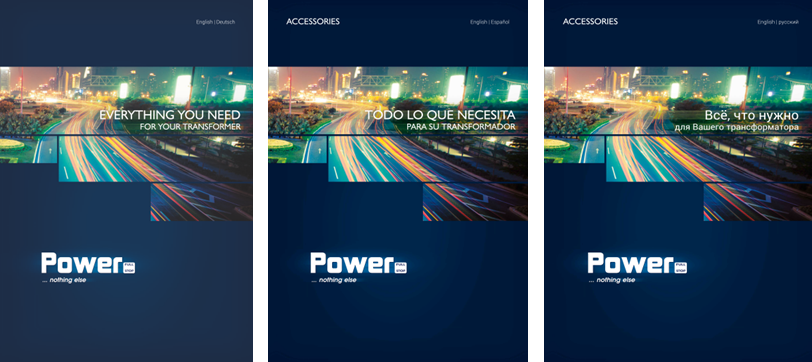 foto catalogues accessories by POWER